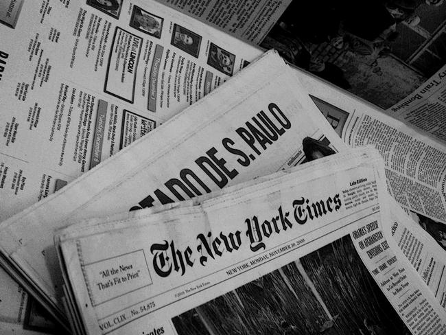 Jornalismo-Origem